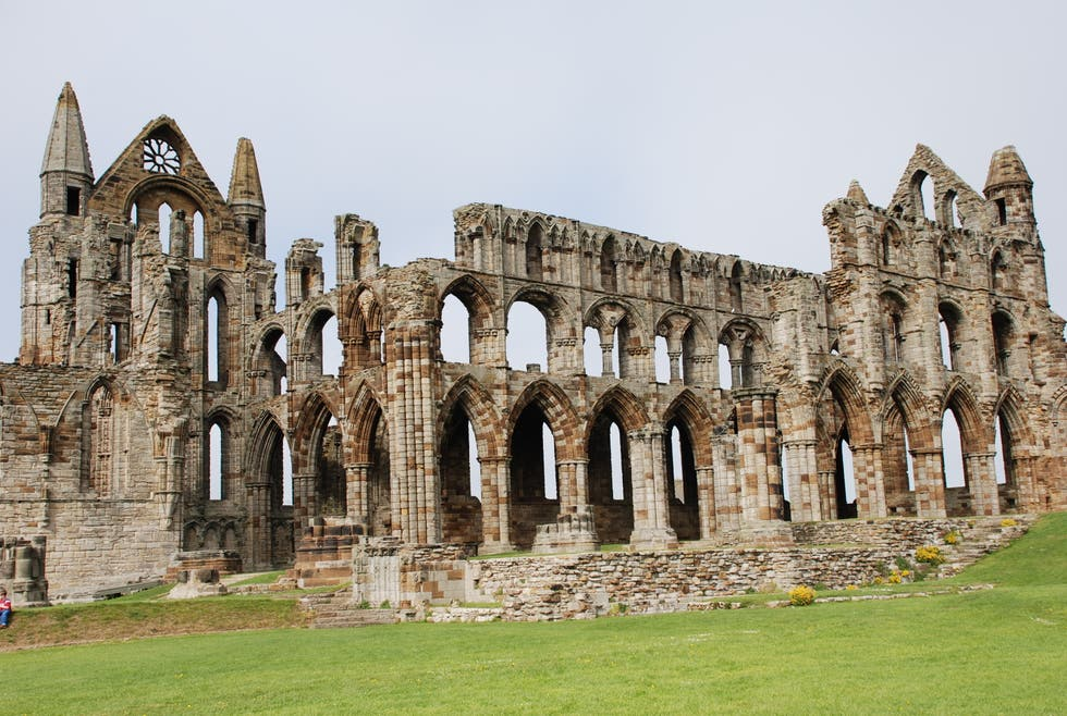 ruins in Whitby