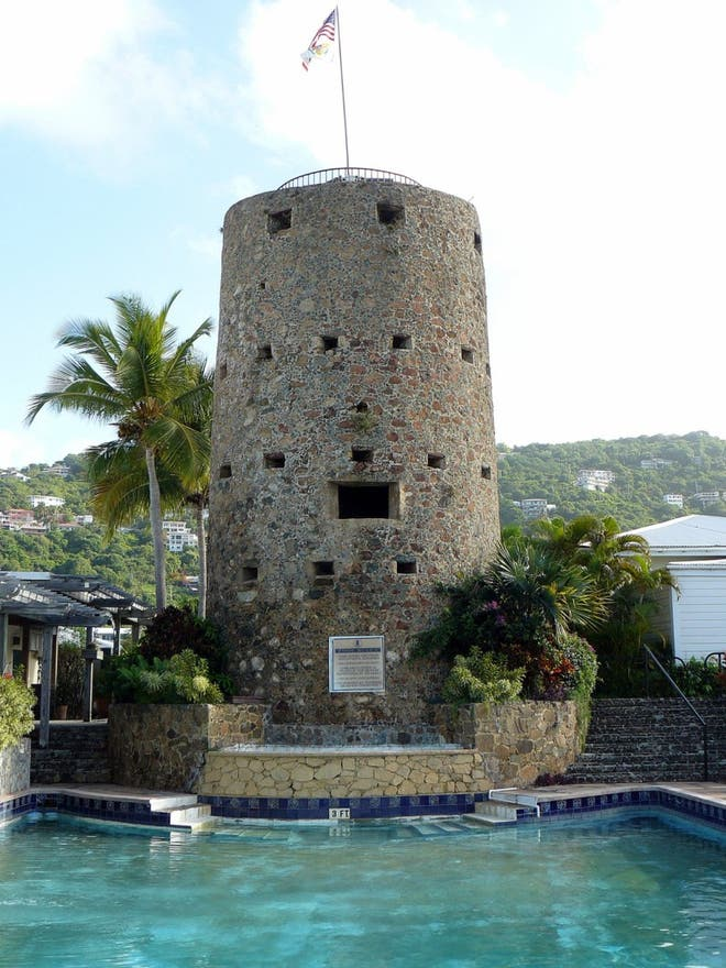 Tower in Charlotte Amalie