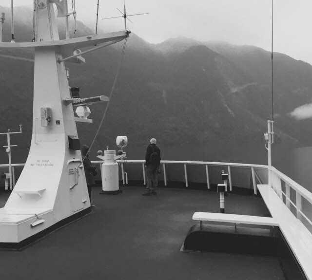 Barco en Sailing Patagonia
