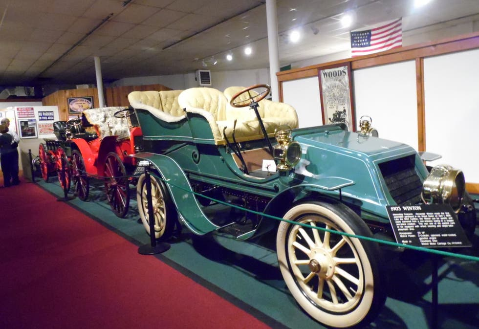 Coche en The Car and Carriage Caravan Museum