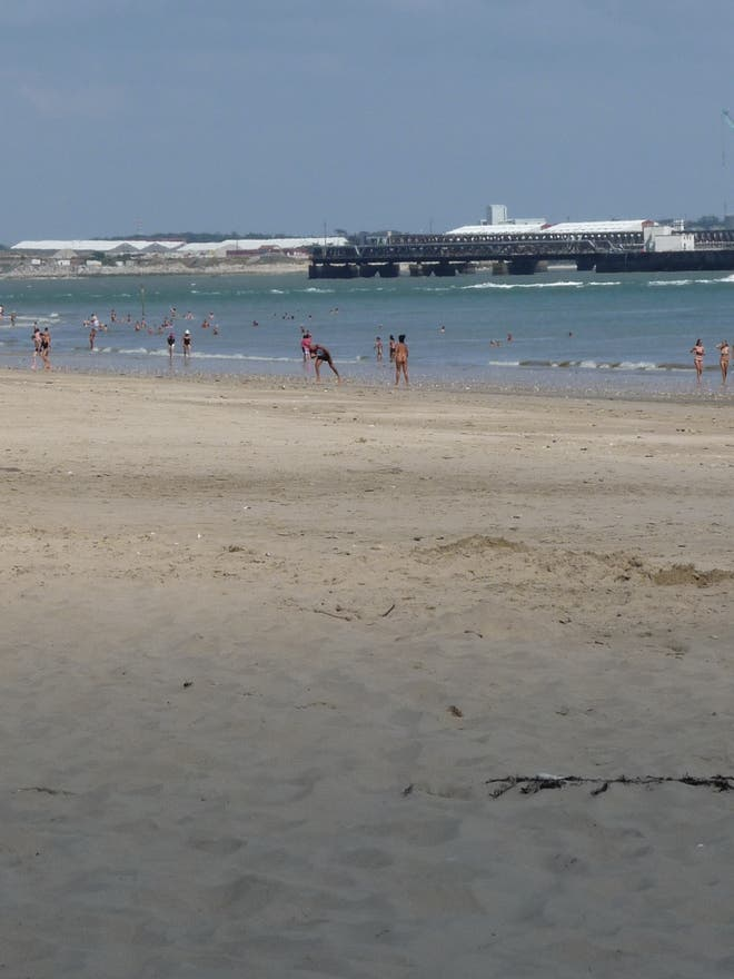 Playa en Rivedoux-Plage