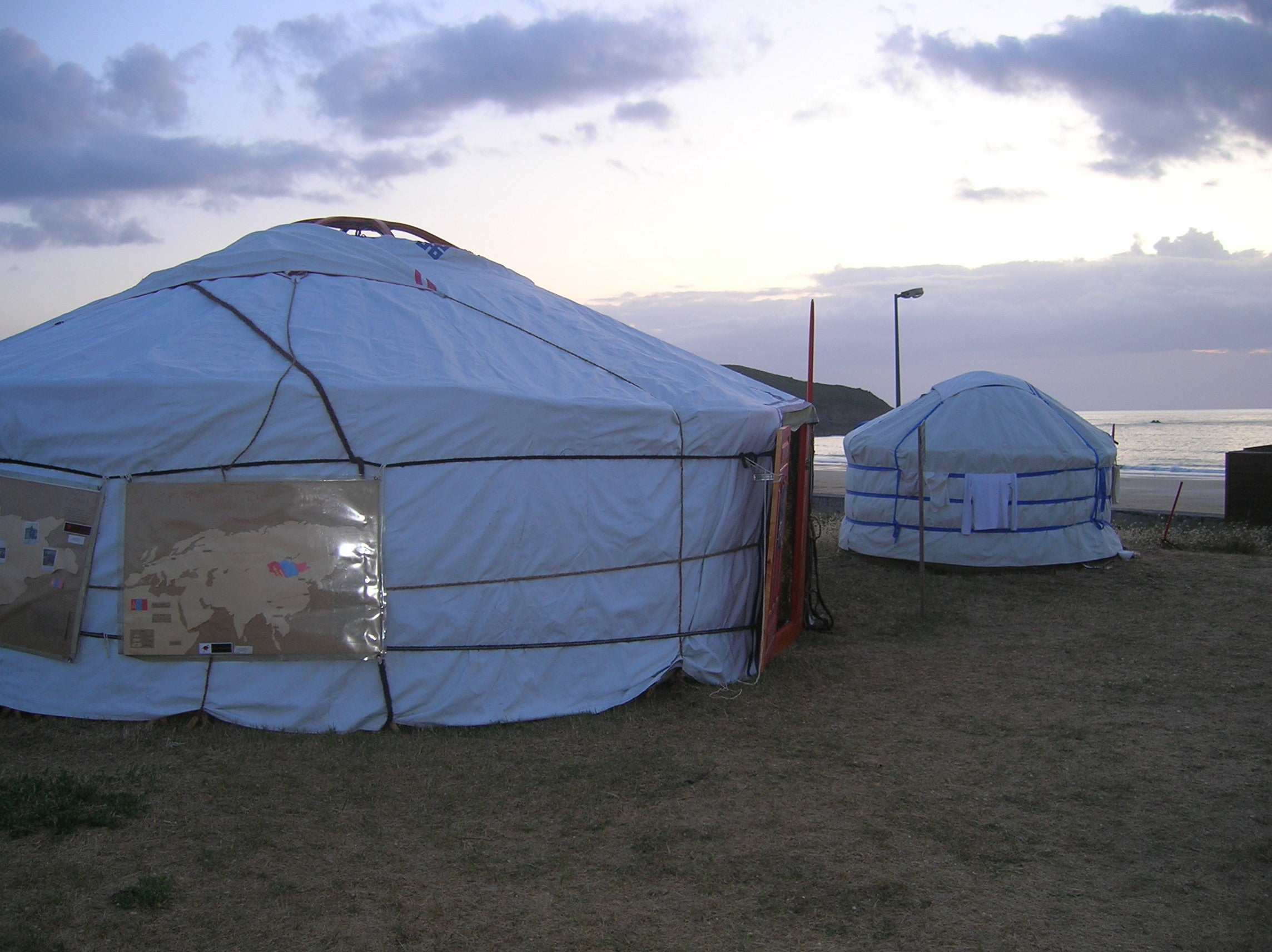 Tent in Saint-Lunaire