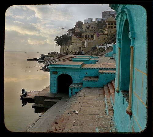 Ventana en Río Ganges
