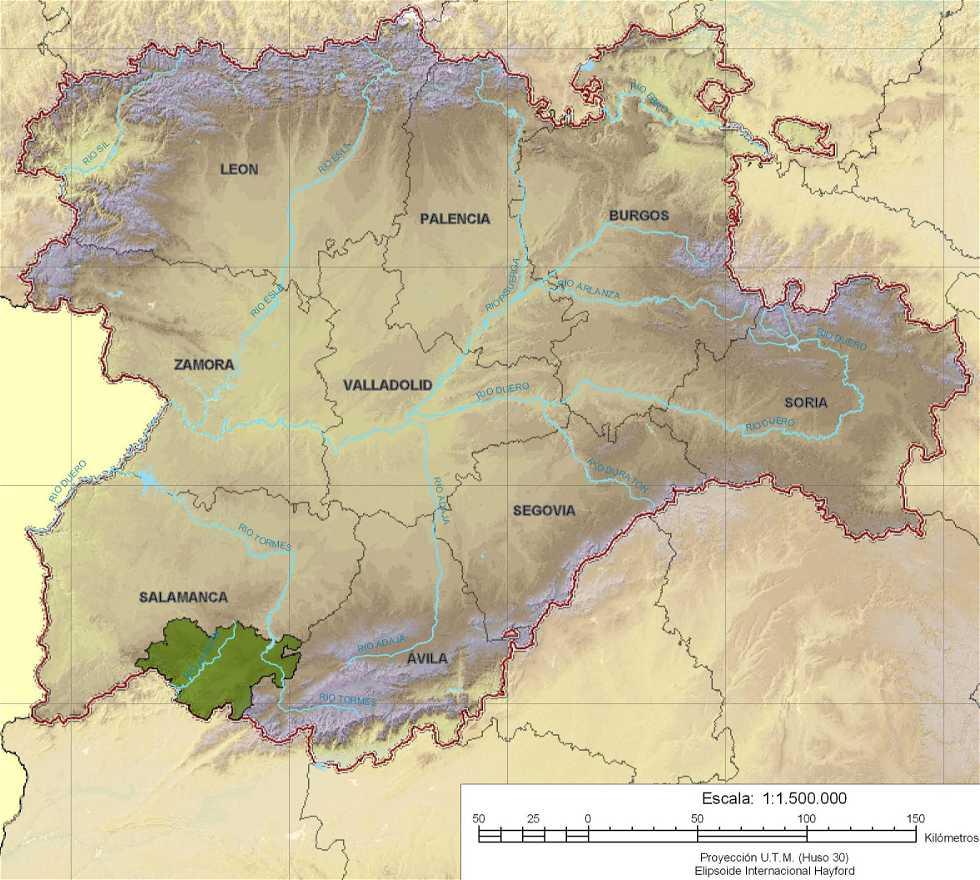 Reserva de la Biosfera en Salamanca (Castilla y León)
