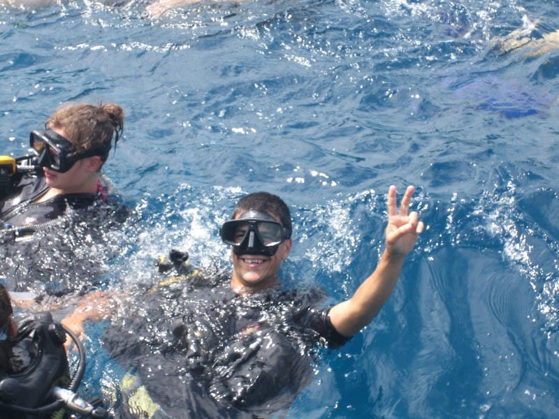 Mar en Submarinismo en Ko Tao, Open Water