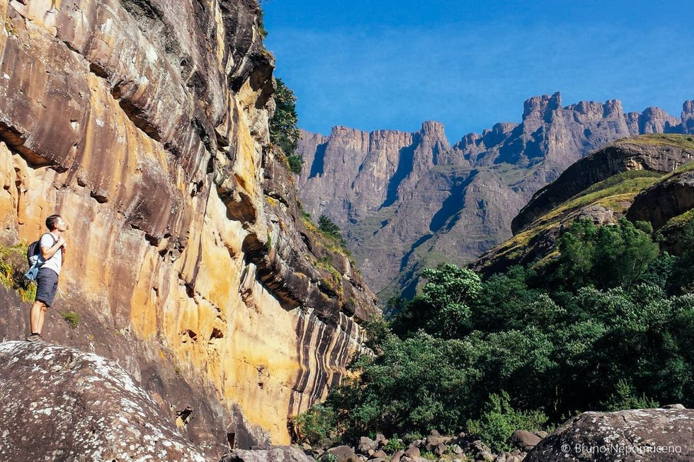 Rock in Tugela Mouth