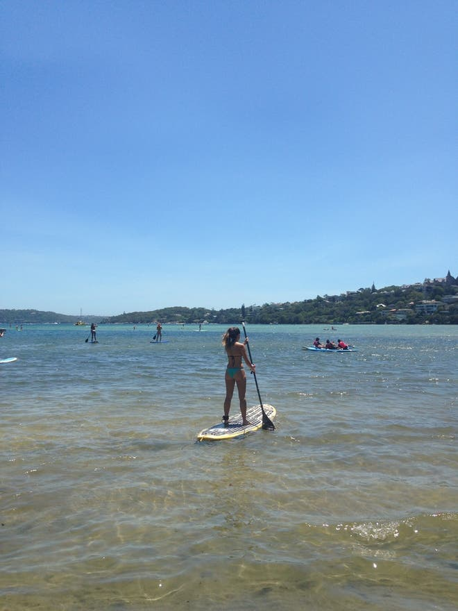 Costa en Stand Up Paddle