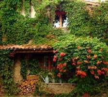 Jardín en Casa Rural La Puentecilla