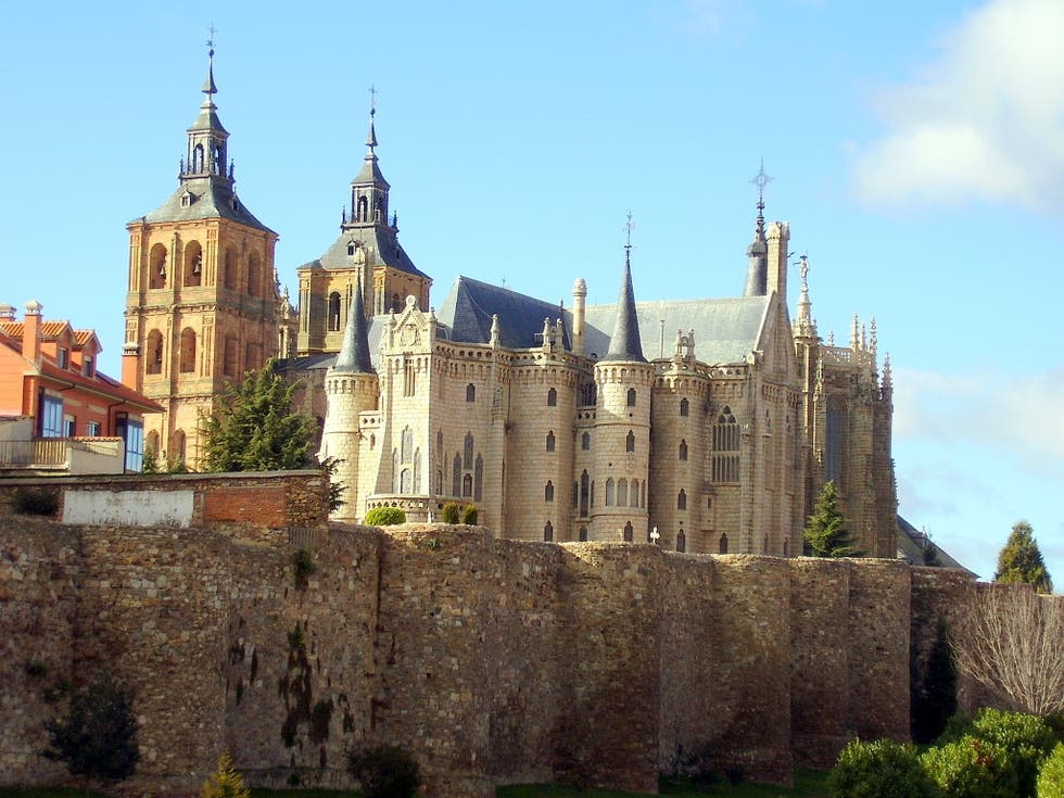Landmark in Astorga