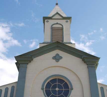 Fachada en Iglesia Corazón de María