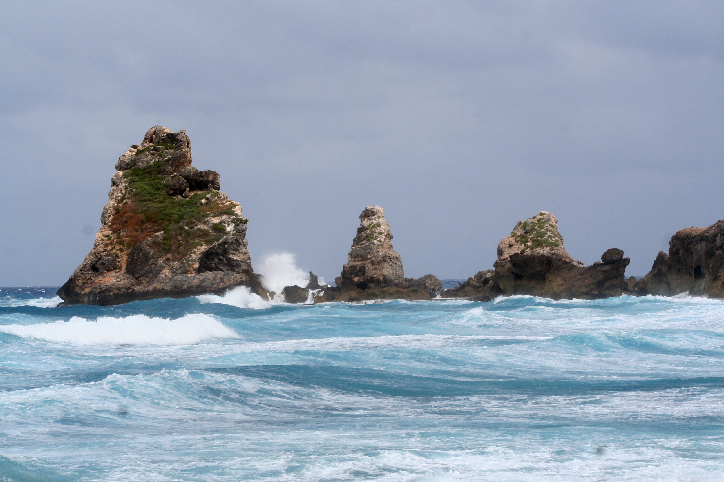 Stack in Guadeloupe