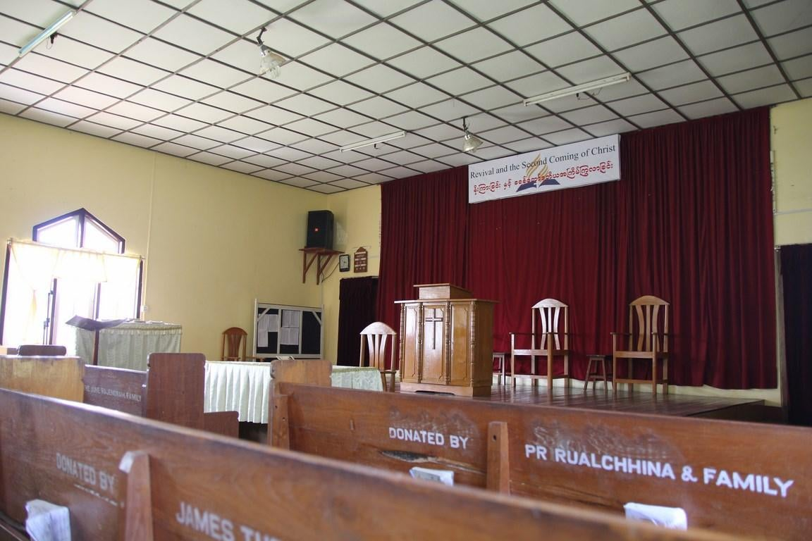 Room in Seventh Day Adventist Church