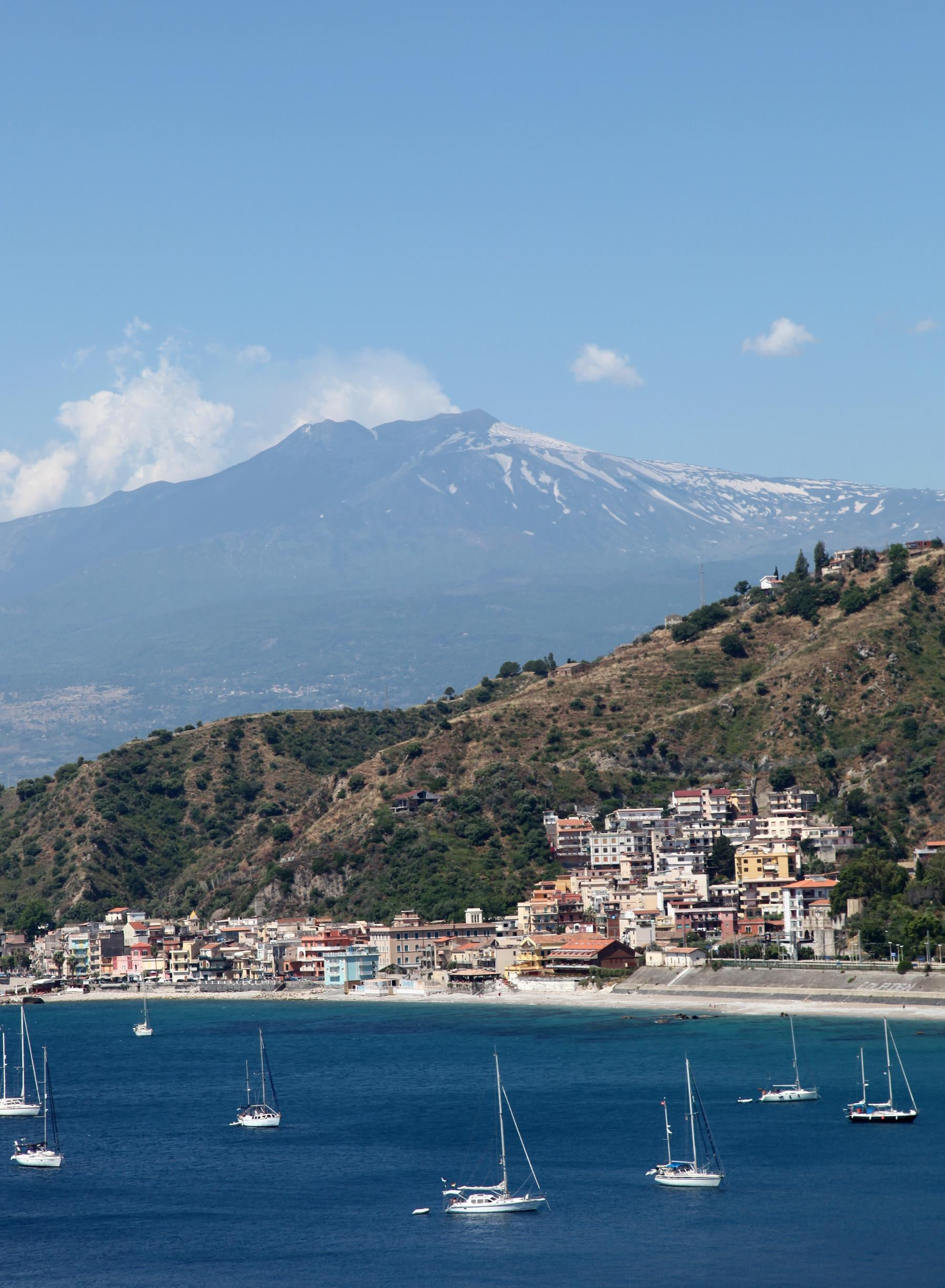 Beach in Taormina
