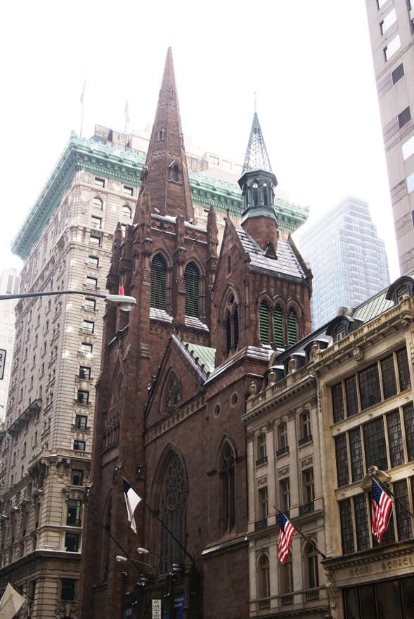 Catedral en Fifth Avenue Presbiterian Church