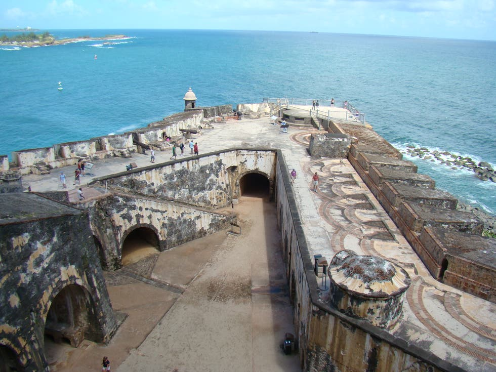 Breakwater in San Juan