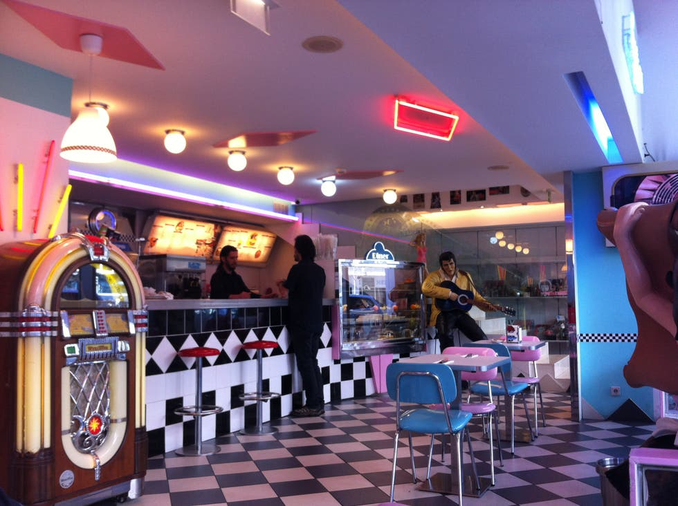 photos of the 50 s american diner restaurant images. Black Bedroom Furniture Sets. Home Design Ideas