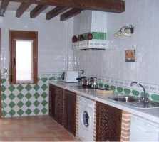 Fotos de cocina en casa rural casas rurales el sidrillo y for Cocinas rurales