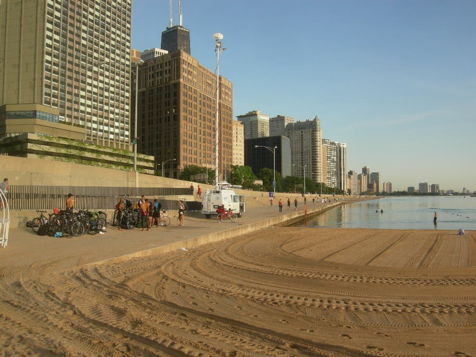 Mar en Ohio Street Beach