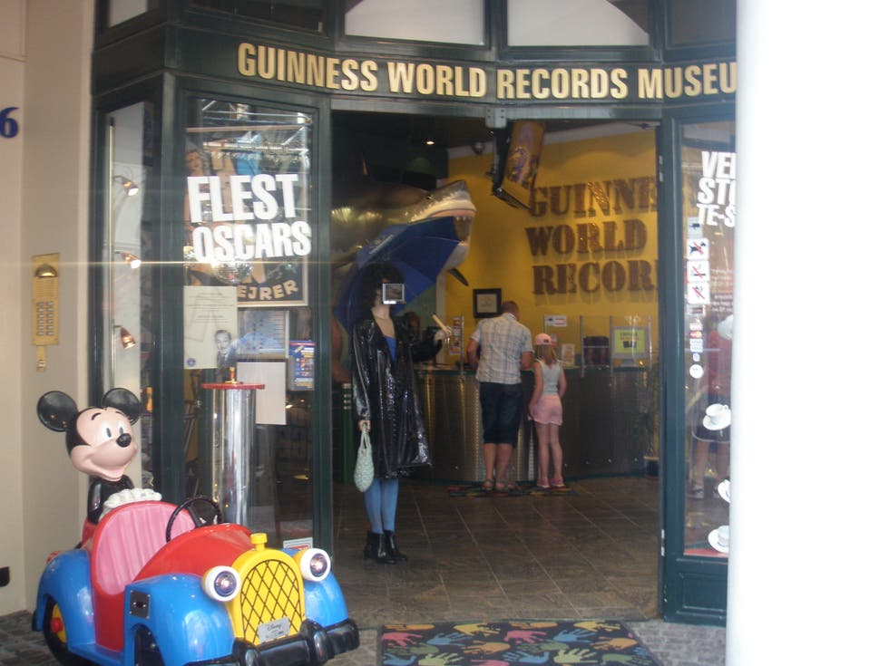 Comida en Guinness World Records Museum