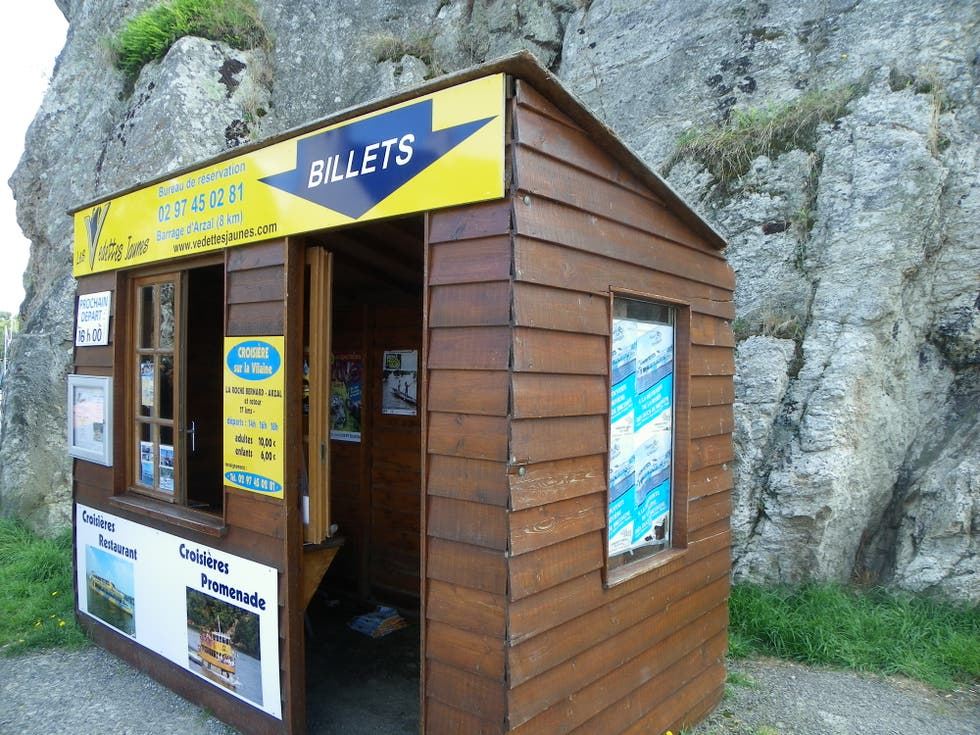 Kiosk in Arzal
