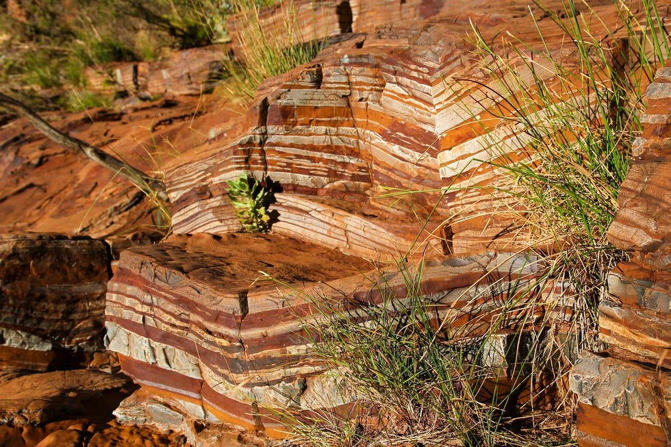 outcrop in Tom Price