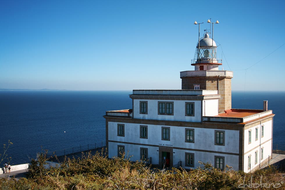 Lighthouse in Finisterre Lighthouse