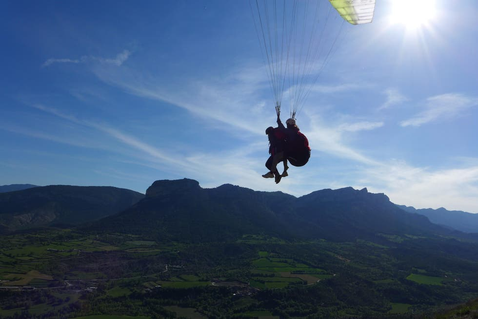 Deporte extremo en Canfly tandem Tenerife