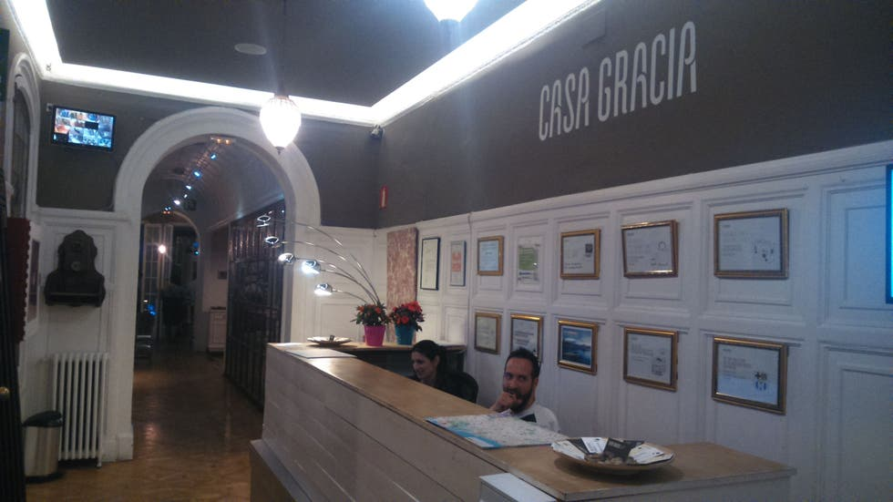 Photos de tourisme casa gracia barcelona hostel - Casa gracia barcelona hostel ...