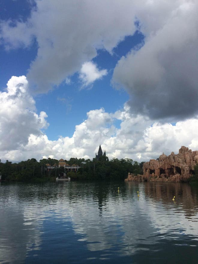 Cielo en Islands of Adventure