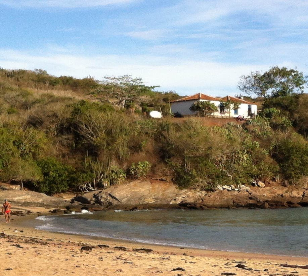 Embalse en Playa do Forno