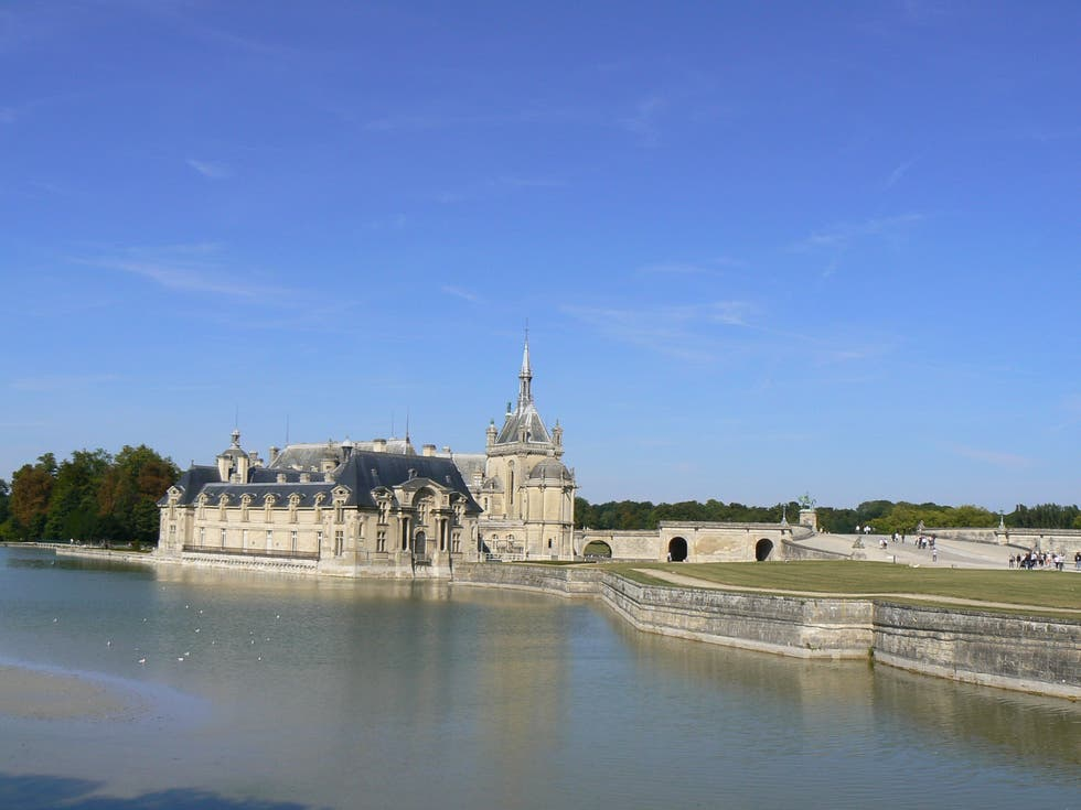 Agua en Castillo de Chantilly