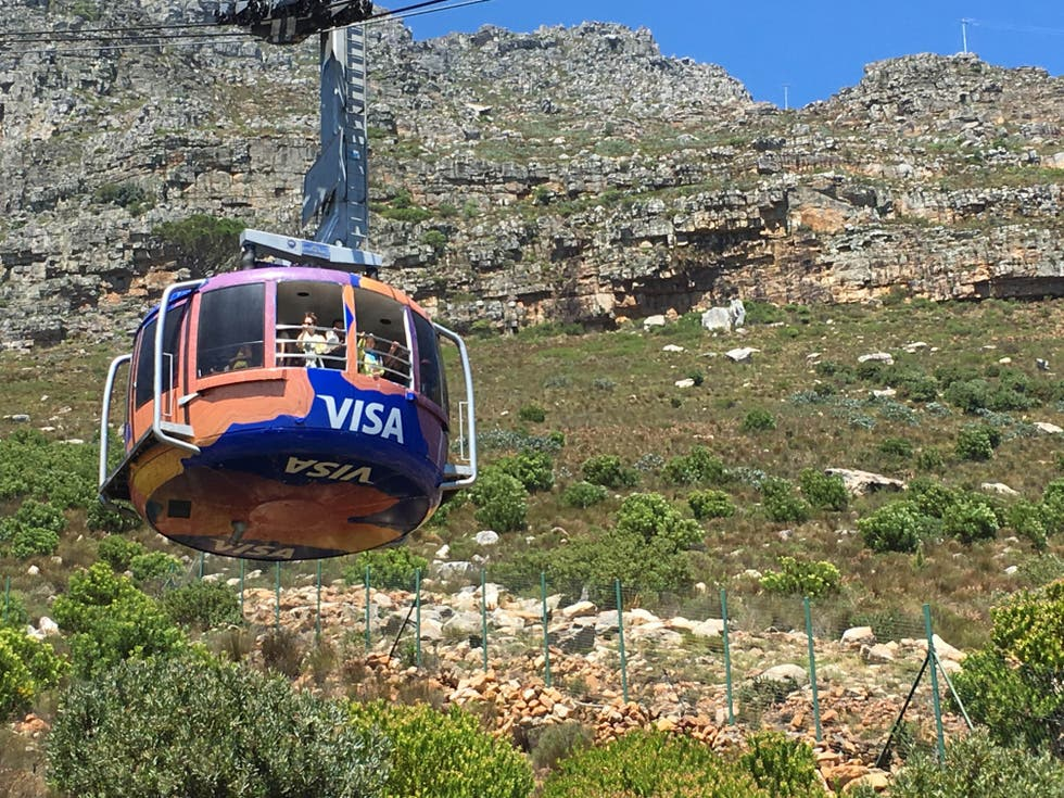 Transporte en Teleférico de Table Mountain