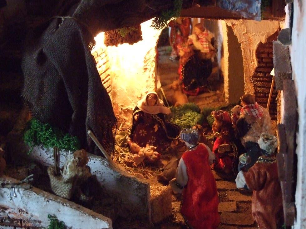 Natale a Exhibition of Nativity scenes in theTau Palace