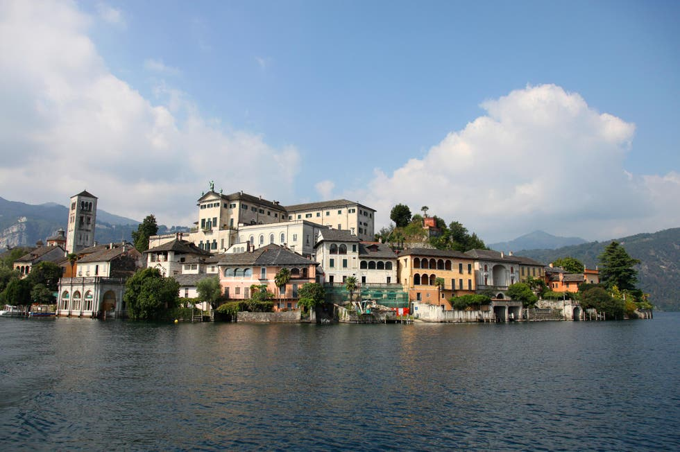 Sea in Orta San Giulio