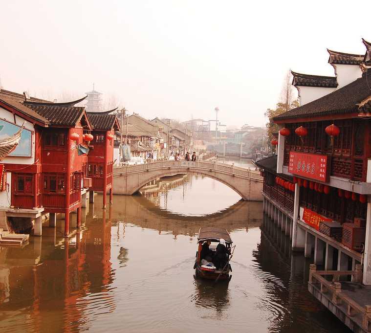 Agua en Qibao
