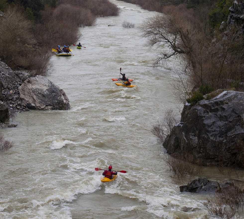 Kayak en Rafting en el Valle de Roncal