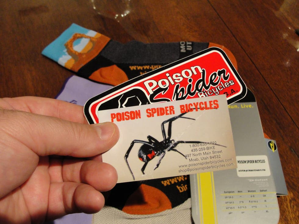 Diseño gráfico en Poison Spiders Bicycles
