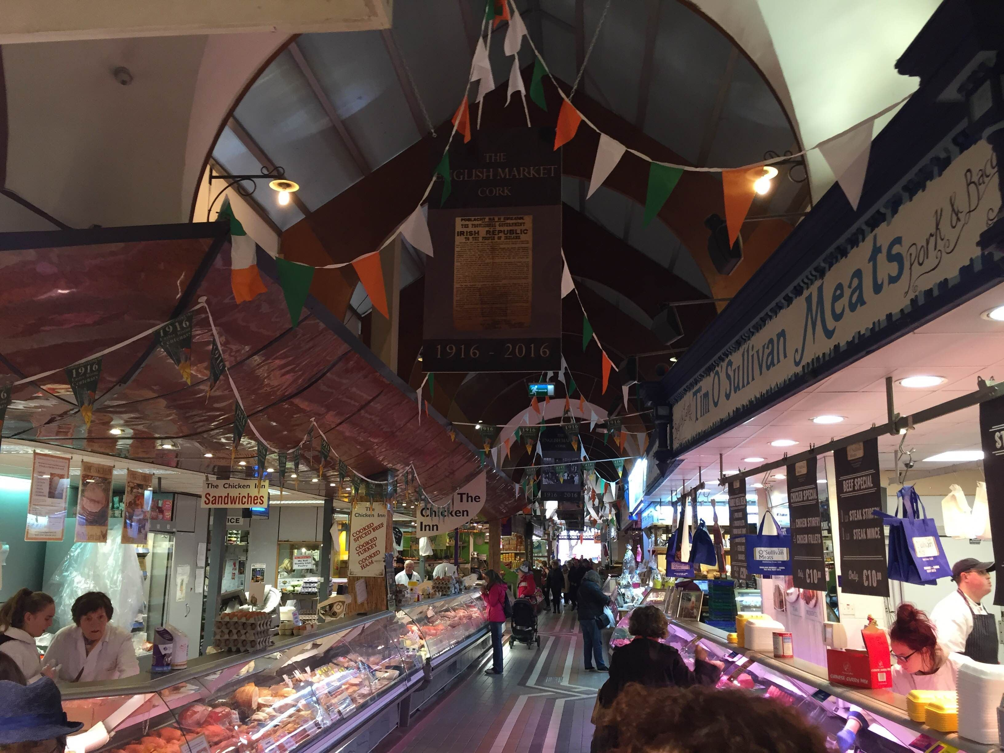 Mercado en Cork English Market