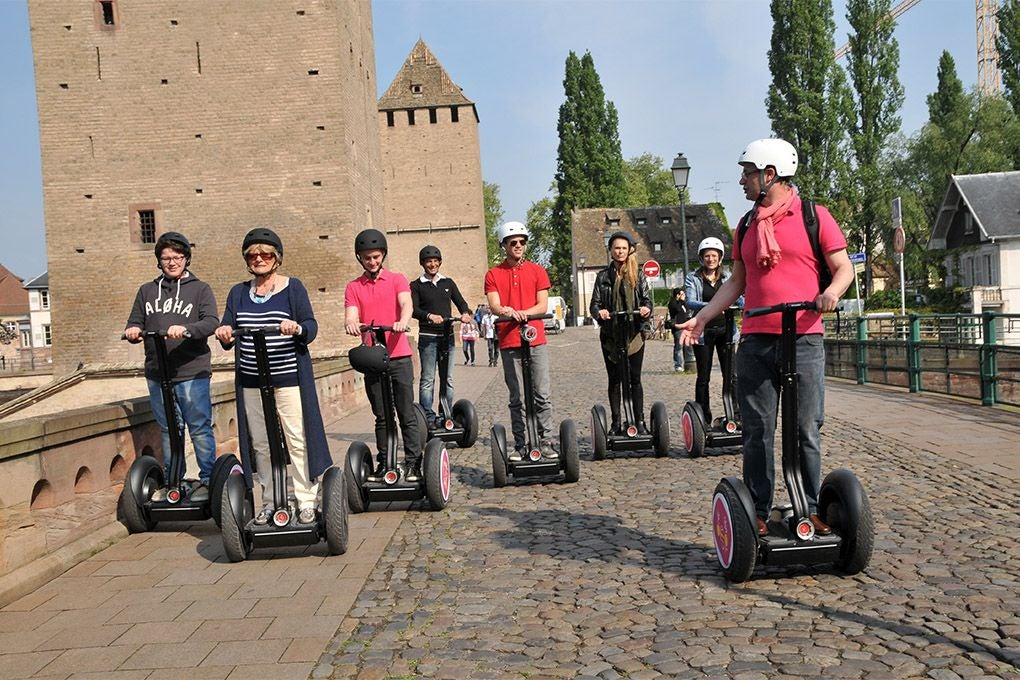 Sports in Estraburgo Segway