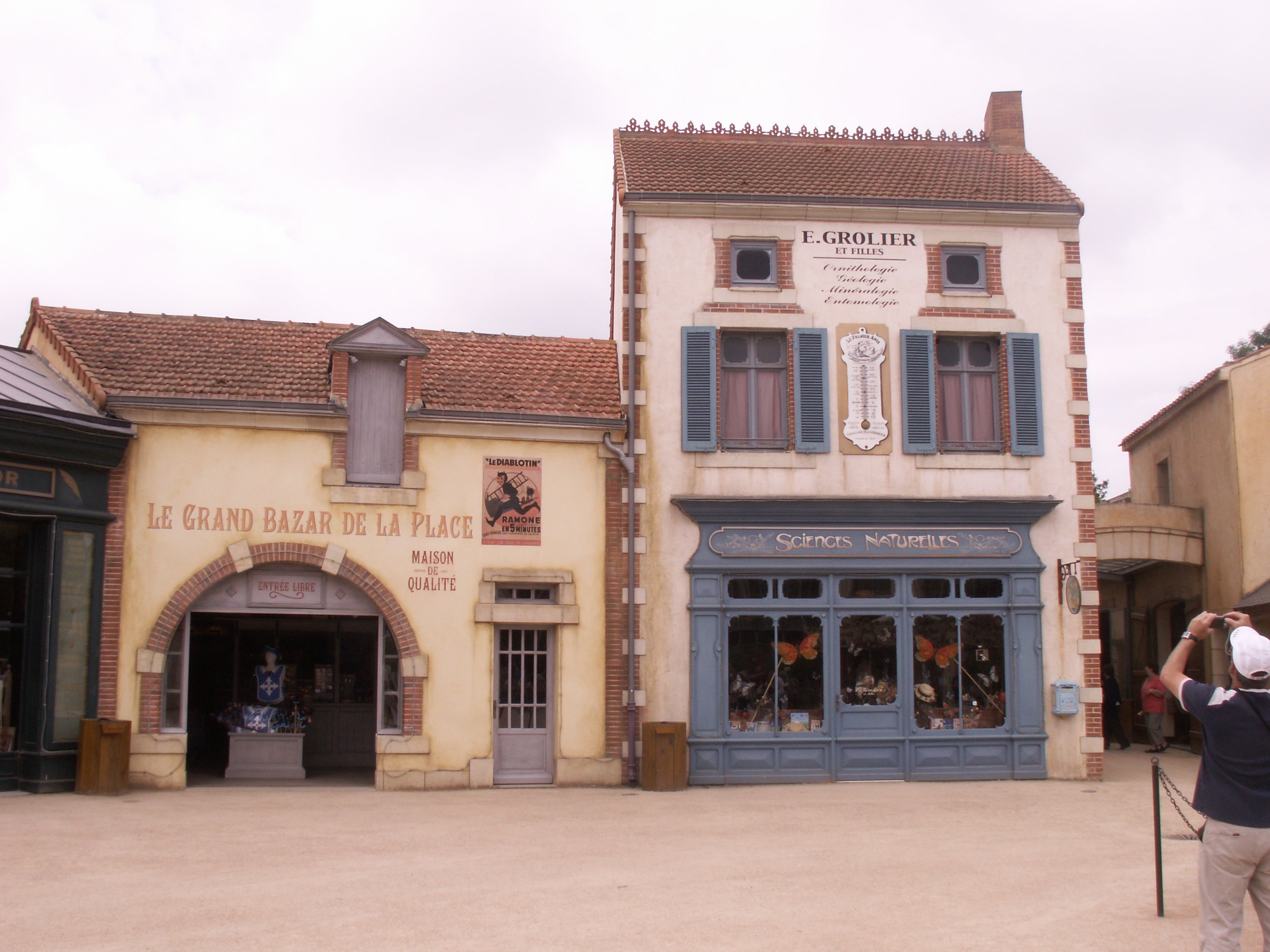 Town in Puy du Fou