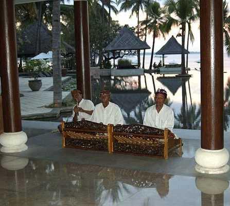 Sala en Hotel Oberoi en Lombok