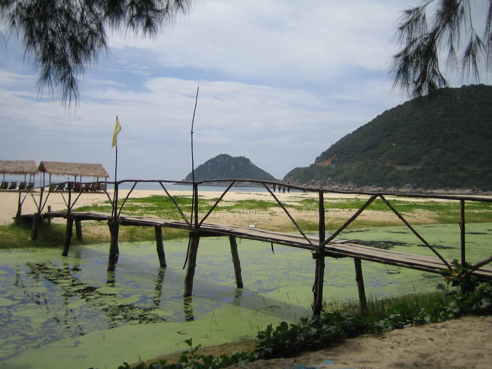 Water in Qui Nhon