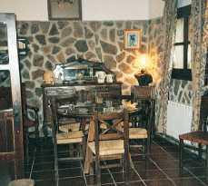 Chimenea en Casa Rural El Tejar
