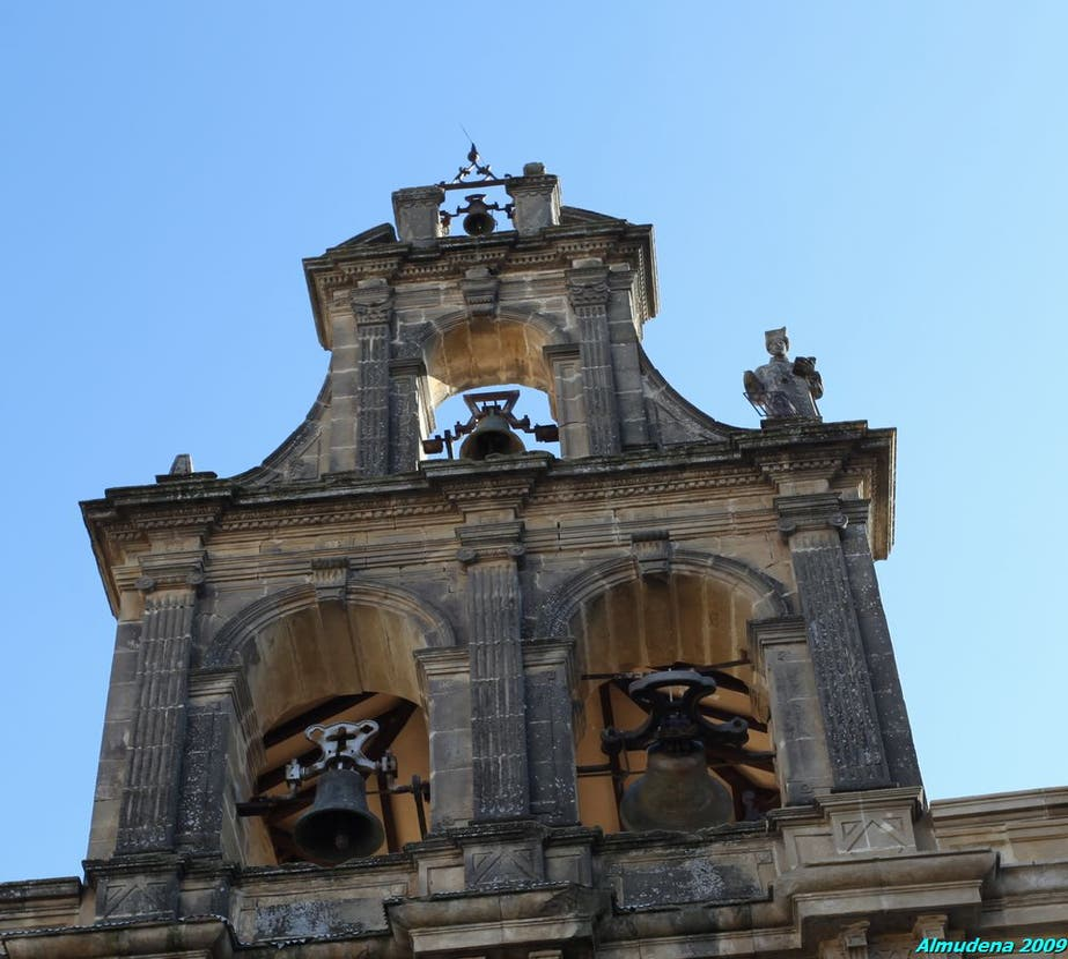Arco en Iglesia de Santa María de los Reales Alcázares