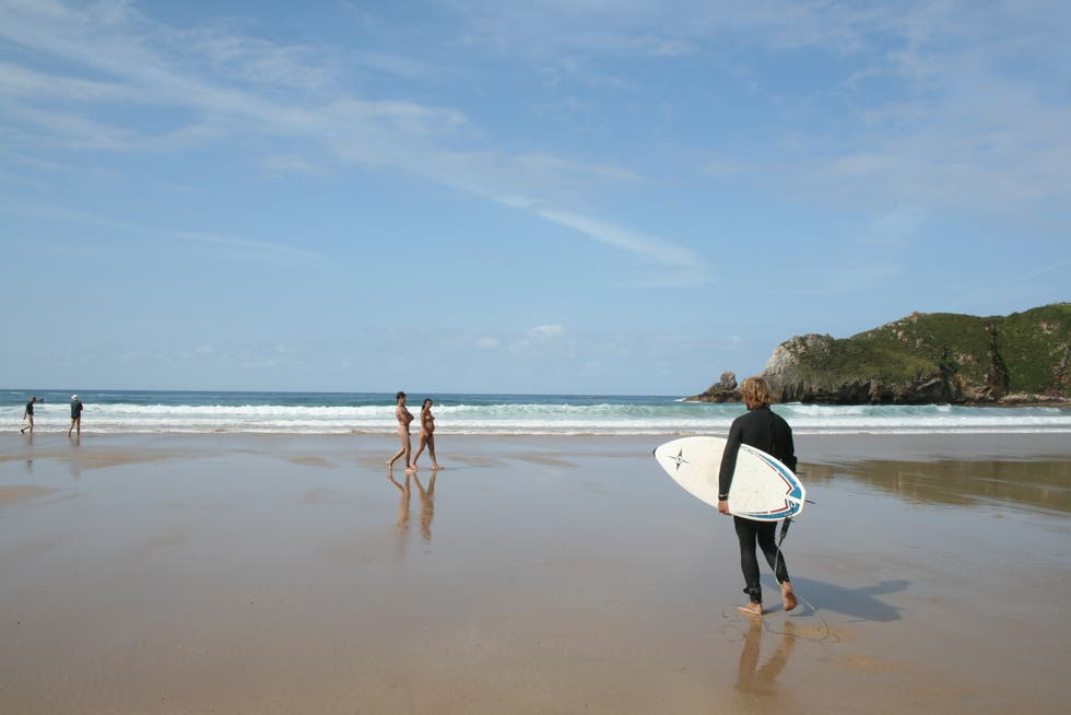 playa de torimbia surf