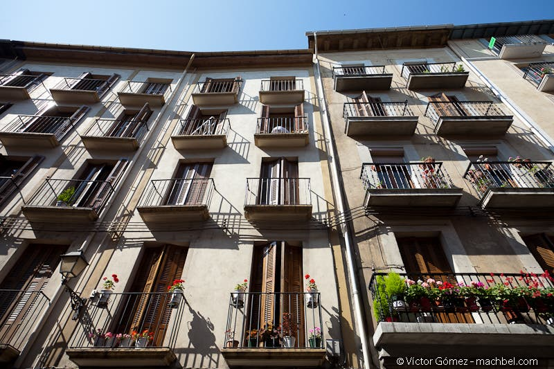 Facade in Pamplona