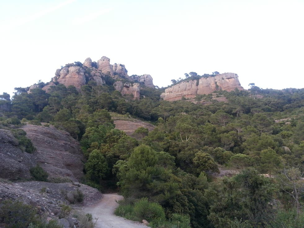 Mountain in Sant Llorenç Savall