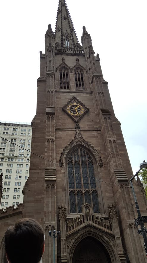 Arquitectura en St. Patrick's Old Cathedral