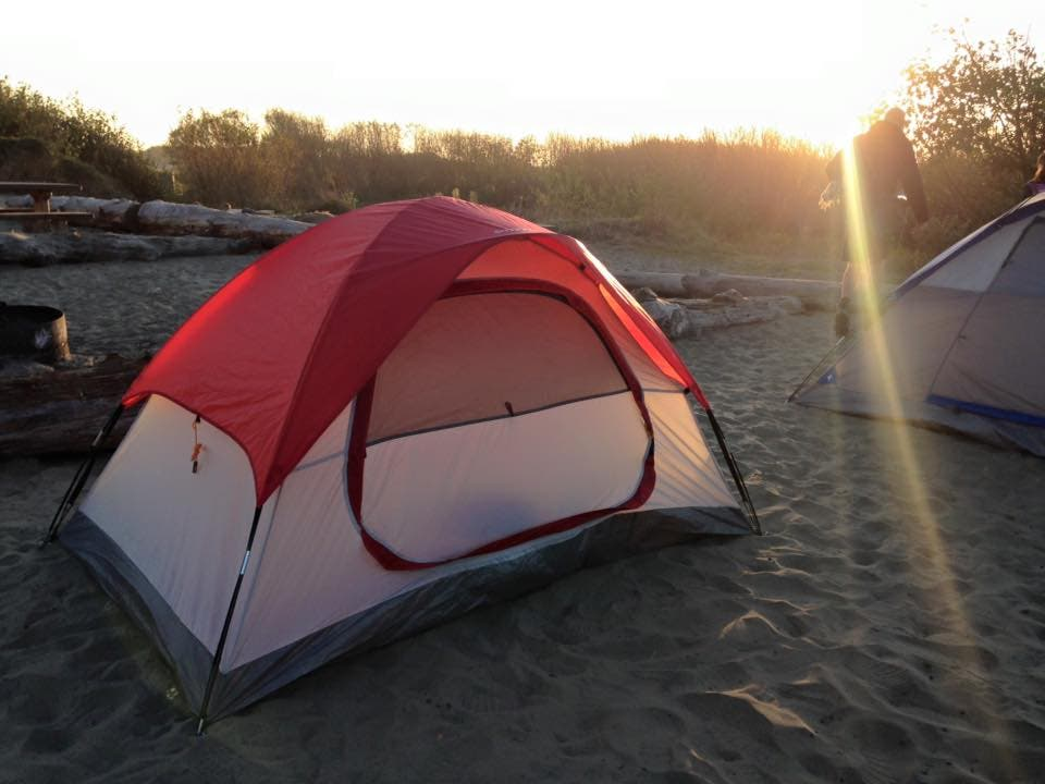 Naturaleza en Clam Beach Camping Zone