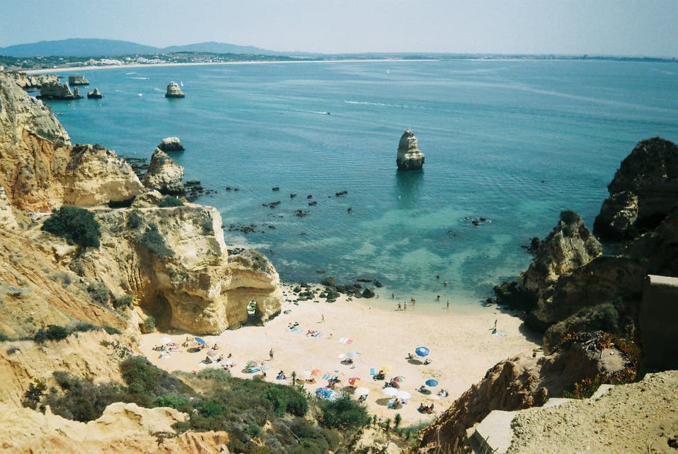 Mar en Playa de Pinhao